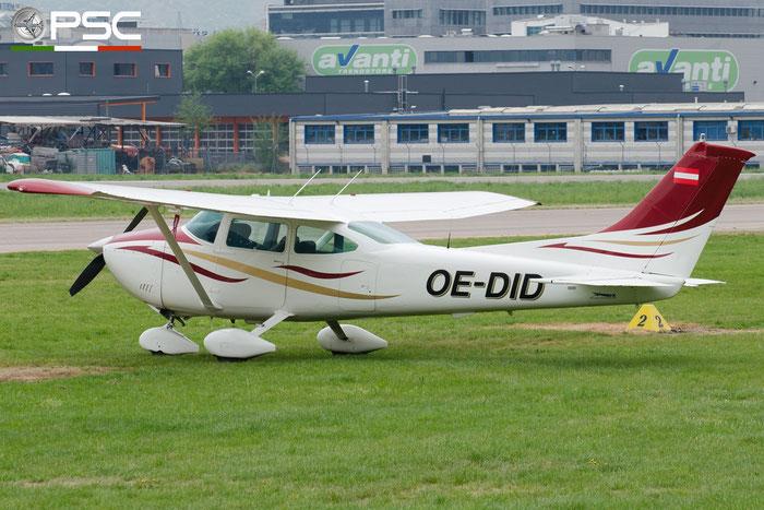 OE-DID Österreichischer Sportfliegerclub Salzburg Cessna 182P Skylane @ Aeroporto di Bolzano © Piti Spotter Club Verona