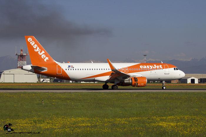 OE-IVM A320-214 7537 easyJet Europe @ Aeroporto di Verona 04.2019  © Piti Spotter Club Verona