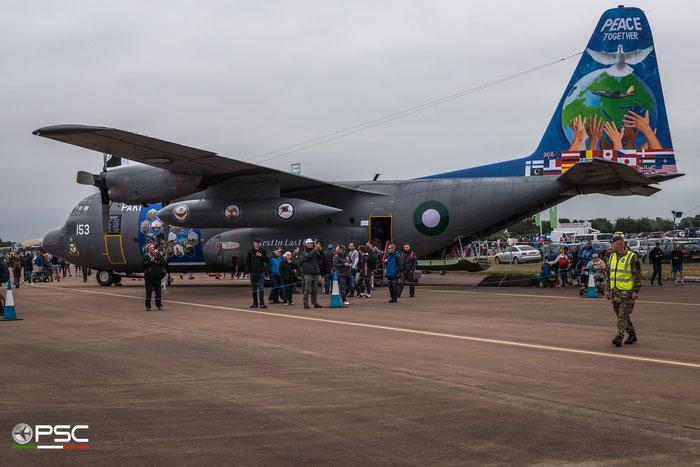 153 Lockheed C-130B Hercules Pakistan Air Force © Piti Spotter Club Verona