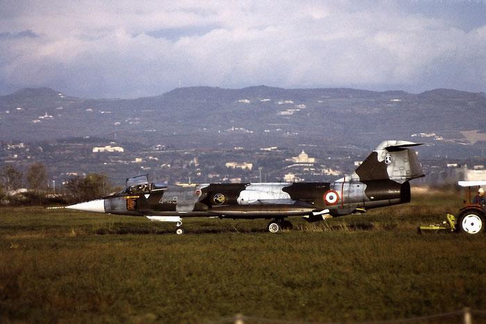 MM6589  4-49  F-104G  6589 @ Aeroporto di Verona   © Piti Spotter Club Verona