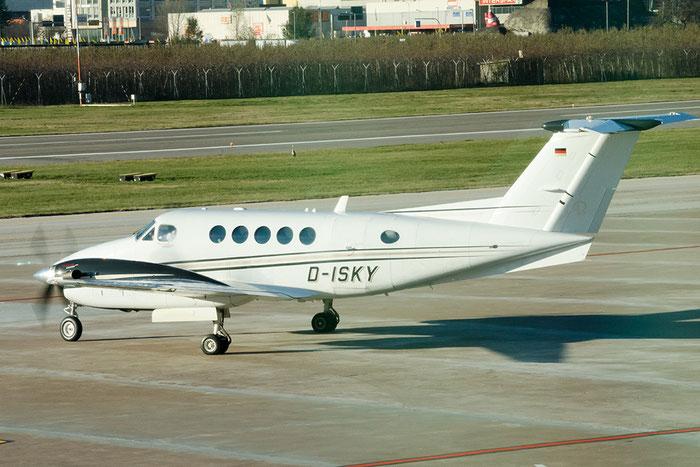 D-ISKY Beech B200 BB-2014 Air Hamburg Private Jets @ Aeroporto di Bolzano © Piti Spotter Club Verona