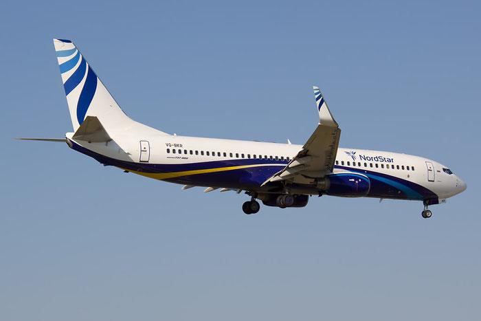 VQ-BKR B737-8AS 33559/1443 NordStar Airlines @ Rimini Airport 20.08.2011 © Piti Spotter Club Verona