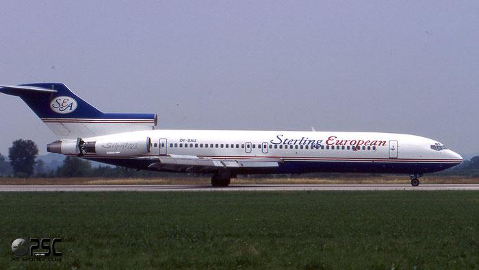 OY-SAU  B727-2J4  20764/960  Sterling Airways  @ Aeroporto di Verona © Piti Spotter Club Verona