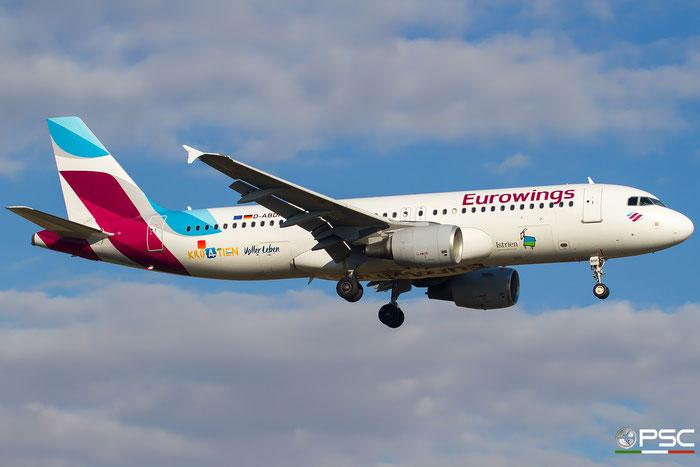D-ABDP  A320-214  3093  Eurowings @ Bologna 2020 © Piti Spotter Club Verona