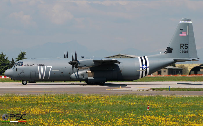 07-8608  RS  C-130J-30  382-5622  37th AS © Piti Spotter Club Verona