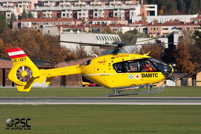 OE-XEY Eurocopter EC135 T2+ (EC135 T2i) serial 0521 @ Innsbruck Airport 26.10.2013 © Piti Spotter Club Verona