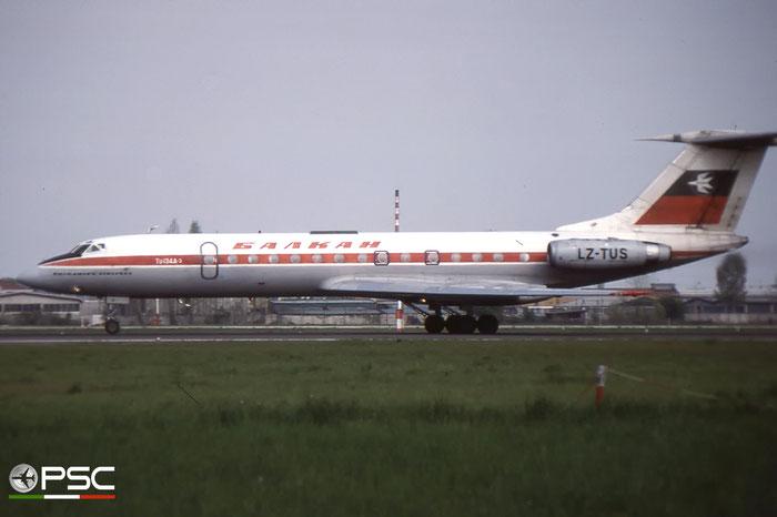 LZ-TUS 60642 Tu-134A-3 LZ-TUS Balkan © 2018 courtesy of Marco Ceschi - Piti Spotter Club Veron