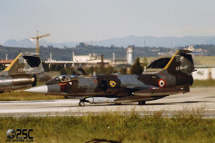 Gli F-104 del Terzo Stormo: 3-42 -  @ Aeroporto di Verona   © Piti Spotter Club Verona