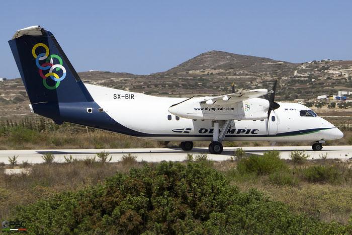 SX-BIR  DHC-8-102A  364  Olympic Air  @ Milos 2020 © Piti Spotter Club Verona
