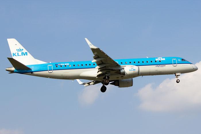 PH-EZK ERJ190STD 19000326 KLM Cityhopper @ Bologna Airport - 07.09.2014  © Piti Spotter Club Verona