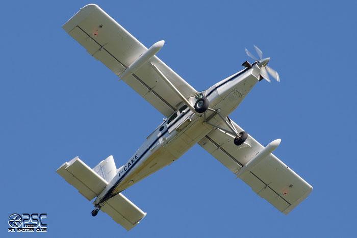 I-CAKE Pilatus PC-6/B2-H4 PC6T 942 Happy Fly GmbH @ Aeroporto di Bolzano © Piti Spotter Club Verona