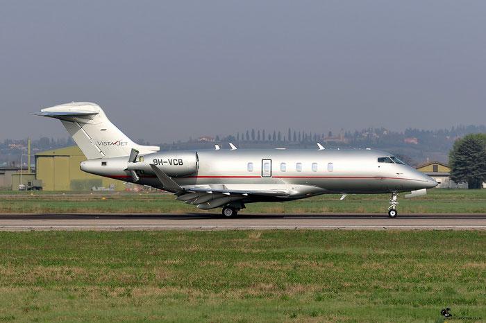 9H-VCB CL-350 20514 VistaJet Malta @ Aeroporto di Verona 25.03.2017  © Piti Spotter Club Verona