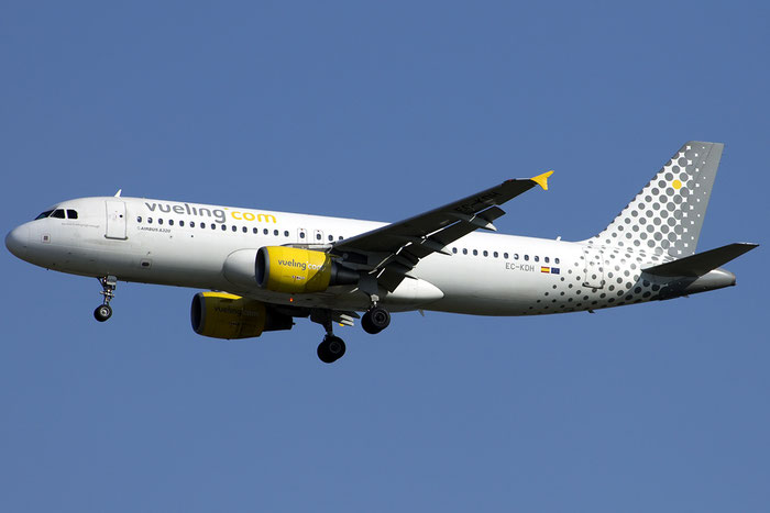 EC-KDH A320-214 3083 Vueling Airlines  @ Venezia Airport 14.08.2014 © Piti Spotter Club Verona