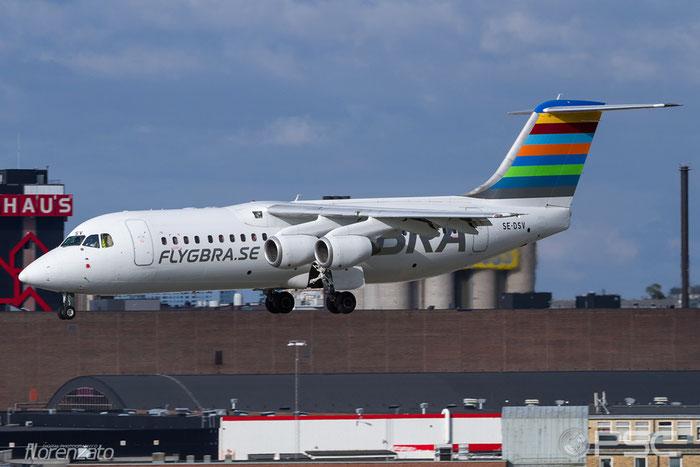 SE-DSV BAe146-RJ100 E3250 BRA - Braathens Regional Airlines @ Stockholm Bromma Airport 19.08.2016 © Piti Spotter Club Verona