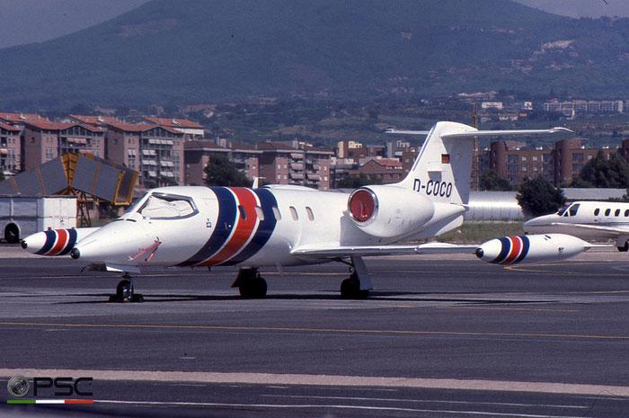 D-COCO Learjet 35A 35A-466 © 2018 courtesy of Marco Ceschi - Piti Spotter Club Verona