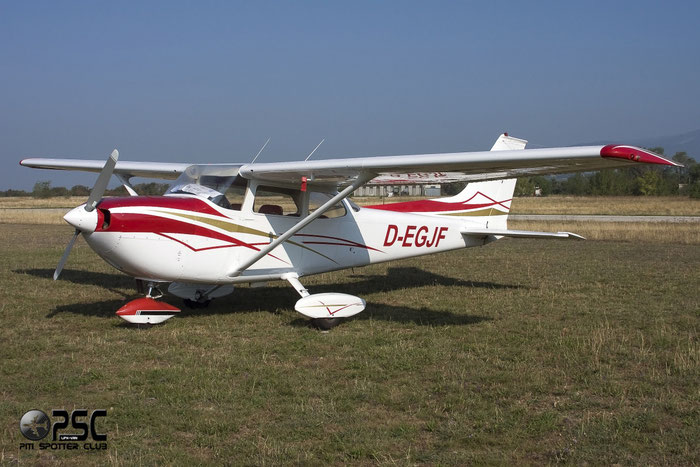D-EGJF Reims Aviation FR172J Rocket C172 FR17200422 @ Aeroporto Verona Boscomantico © Piti Spotter Club Verona
