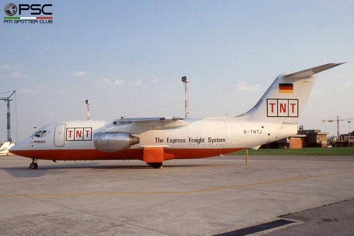 G-TNTJ BAe146-200QT E2100 TNT Express © 2018 courtesy of Marco Ceschi - Piti Spotter Club Verona