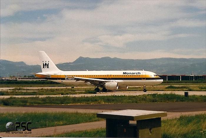 G-MPCD  A320-212  379  Monarch Airlines   @ Aeroporto di Verona © Piti Spotter Club Verona