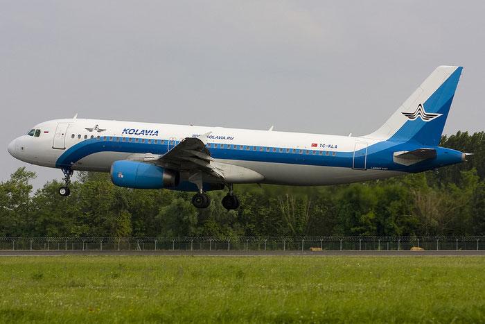TC-KLA A320-232 2029 Kolavia @ Treviso Airport 09.06.2012 © Piti Spotter Club Verona