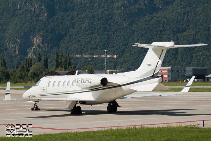 I-YLFC Learjet 40 45-2024 Leader Srl. @ Aeroporto di Bolzano © Piti Spotter Club Verona
