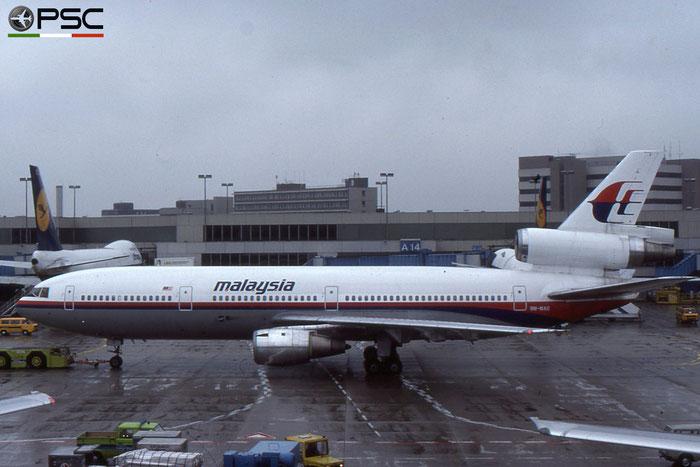 9M-MAS DC-10-30 46955/228 Malaysia Airlines © 2018 courtesy of Marco Ceschi - Piti Spotter Club Verona