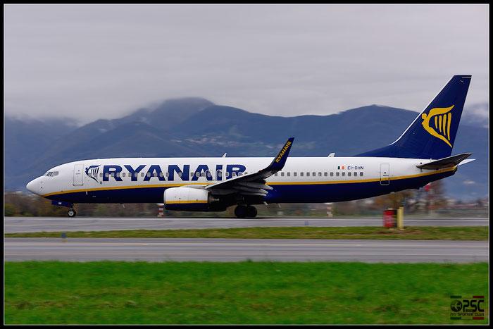 EI-DHN B737-8AS 33577/1782 Ryanair @ Bergamo Airport 07.12.2014 © Piti Spotter Club Verona
