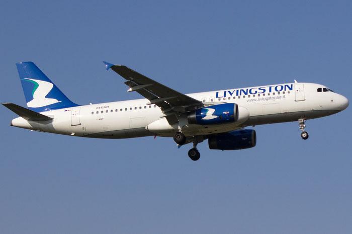EI-EUB A320-232 1998 Livingston @ Bologna Airport 14.03.2014 © Piti Spotter Club Verona