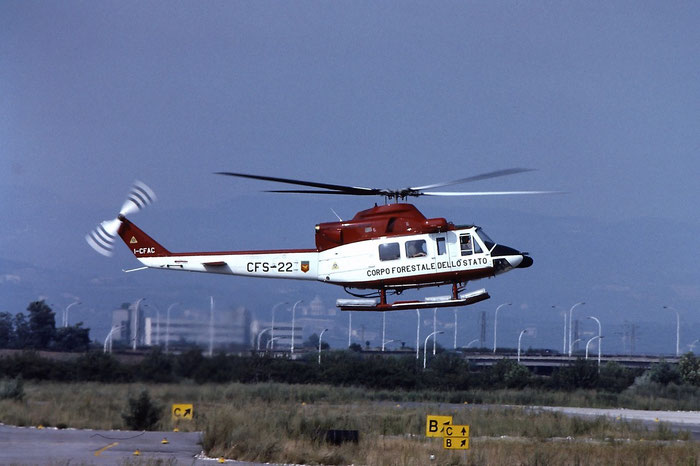 I-CFAC / CFS-22. Agusta Bell AB412SP  @ Aeroporto di Verona   © Piti Spotter Club Verona
