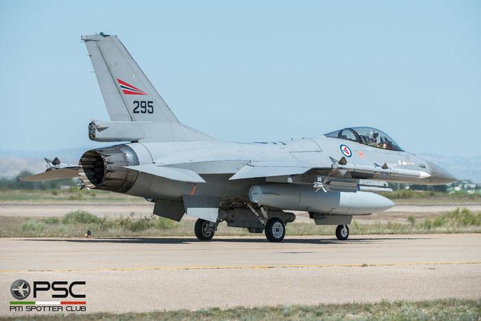 295   F-16AM  6K-24  FLO © Piti Spotter Club Verona