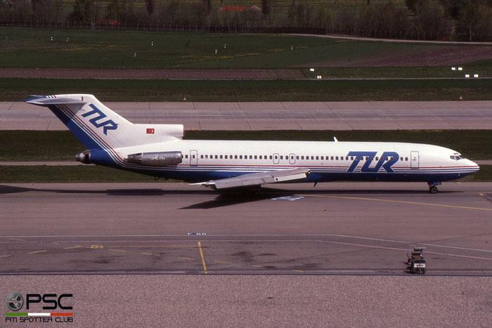 TC-RUT B727-230 20904/1090 TUR European Airways - Tur Avrupa Hava Yollari © 2018 courtesy of Marco Ceschi - Piti Spotter Club Verona