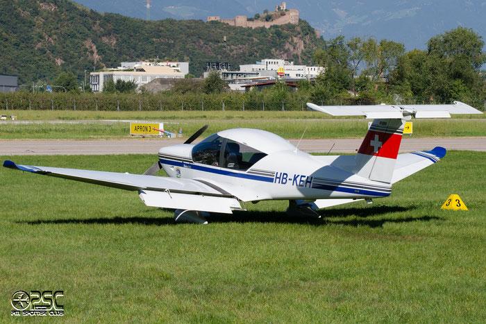 HB-KEH Robin R-3000/160 R300 Lier Fritz, Horgen @ Aeroporto di Bolzano © Piti Spotter Club Verona
