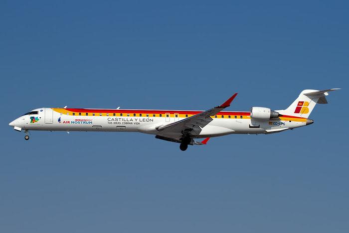 EC-LPG CRJ1000 19021 Air Nostrum @ Bologna Airport 23.02.2012 © Piti Spotter Club Verona