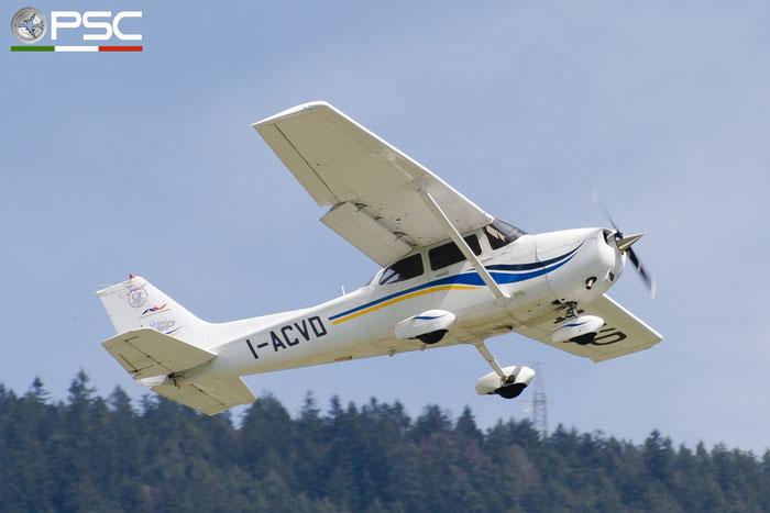 I-ACVD CESSNA 172 SP @ Aeroporto di Bolzano © Piti Spotter Club Verona