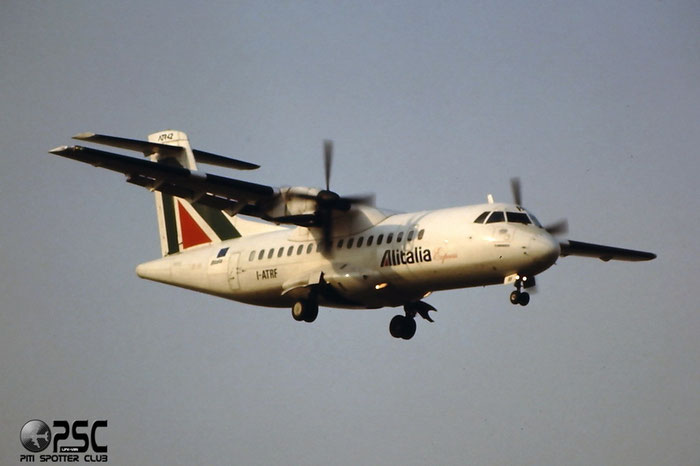 I-ATRF  ATR42-300  034  Alitalia Express  @ Aeroporto di Verona © Piti Spotter Club Verona
