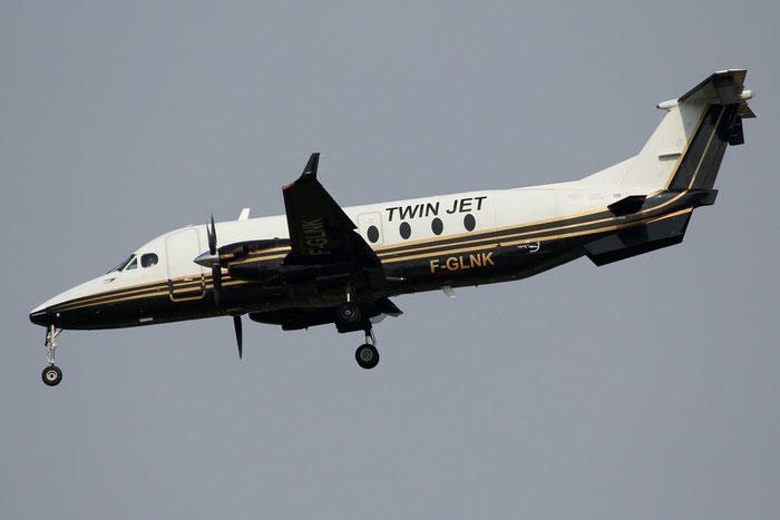 F-GLNK Beech 1900D UE-269 Twin Jet @ Milano Malpensa Airport 31.04.2014 © Piti Spotter Club Verona