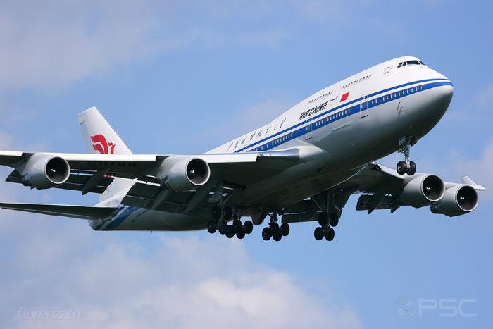 B-2467 B747-4J6 28754/1119 Air China @ Frankfurt Airport 2009 © Piti Spotter Club Verona