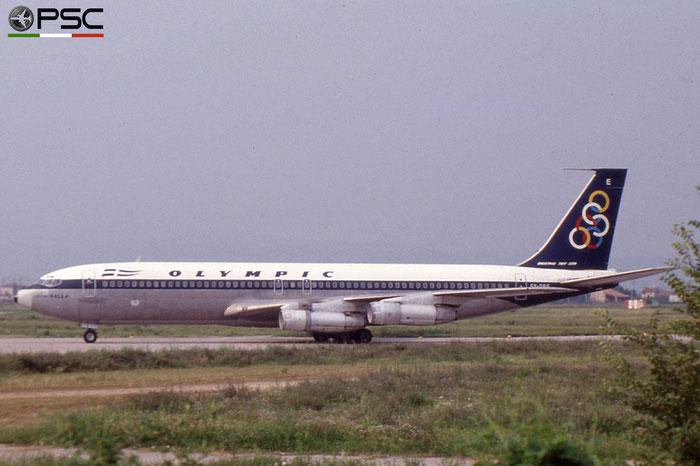 SX-DBE B707-384C 20035/770 Olympic Airways © 2018 courtesy of Marco Ceschi - Piti Spotter Club Verona