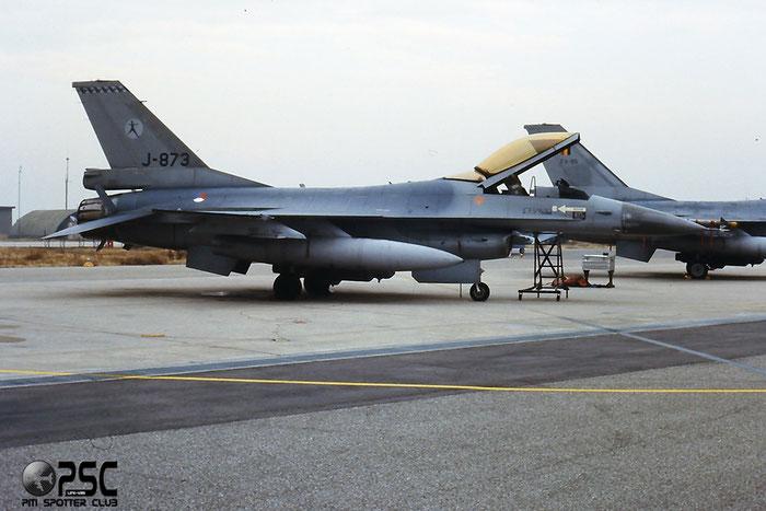 J-873   F-16AM  6D-90 @ Aeroporto di Verona   © Piti Spotter Club Verona