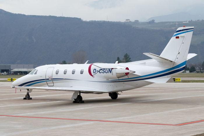 D-CSUN Ce560XLS+ 560-6102 @ Aeroporto di Bolzano © Piti Spotter Club Verona