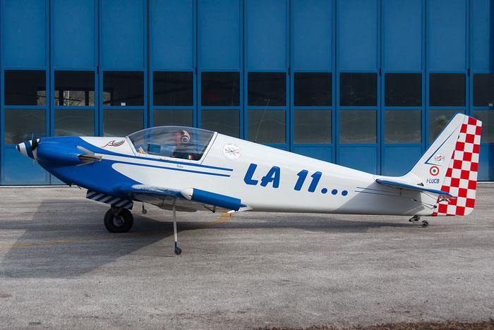 I-LUCB - Sportavia-Fournier RF-4D - Private @ Aeroporto di Trento © Piti Spotter Club Verona