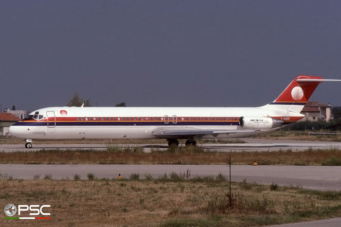I-SMEE DC-9-51 47656/783 Meridiana @ Aeroporto di Verona © Piti Spotter Club Verona