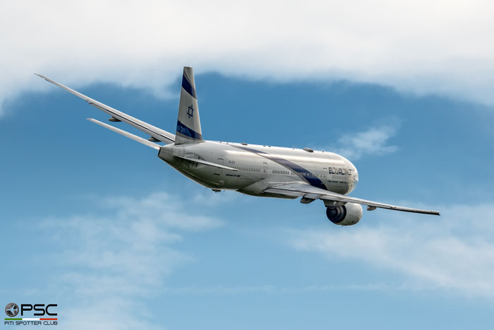 4X-ECA B777-258ER 30831/319 El Al Israel Airlines @ Aeroporto di Verona 08.2019  © Piti Spotter Club Verona