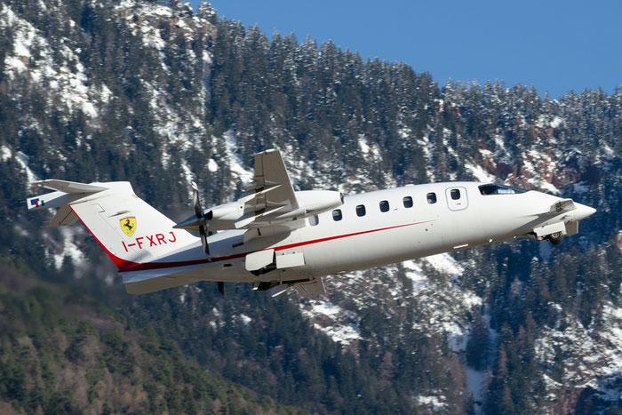 I-FXRJ P180 1178 Foxair Srl @ Aeroporto di Bolzano © Piti Spotter Club Verona