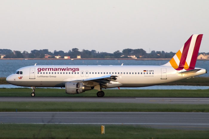 D-AIPX A320-211 147 Germanwings @ Venice Airport 25.01.2015 © Piti Spotter Club Verona