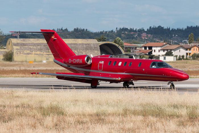D-CHRA Ce525C (CJ4) 525C-0058 E-Aviation @ Aeroporto di Verona 21.08.2017  © Piti Spotter Club Verona