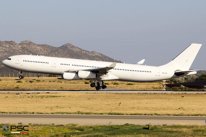 9H-FOX  A340-313X  185  Hi Fly Malta  @ Athens 09.2019 © Piti Spotter Club Verona