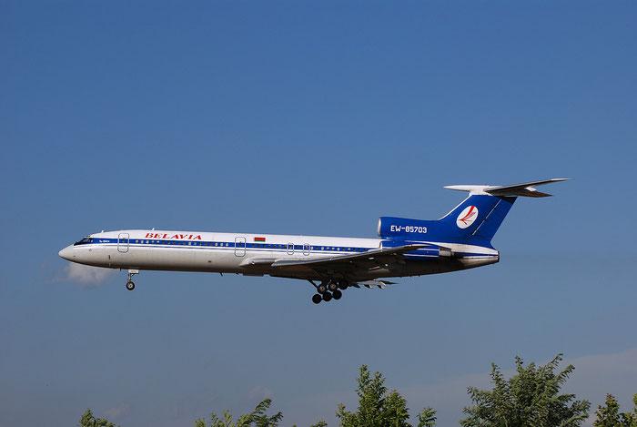 EW-85703 91A878 Tu-154M Belavia - @ Brescia Airport 2008 © Piti Spotter Club Verona