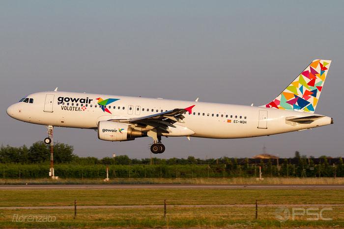 EC-MQH A320-214 1296 Gowair Vacation Airlines @ Aeroporto di Verona 30.06.2018  © Piti Spotter Club Verona