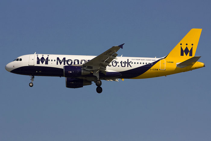 G-OZBW A320-214 1571 Monarch Airlines @ Venezia Airport 16.06.2012 © Piti Spotter Club Verona