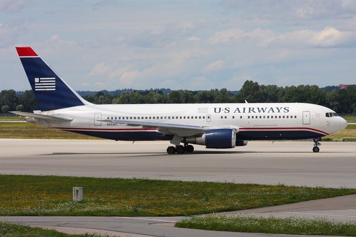 N253AY B767-2B7ER 24894/338 US Airways @ Münich Airport 05.2009 © Piti Spotter Club Verona